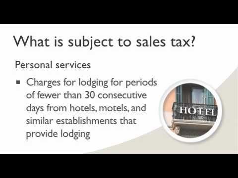 Sales tax in Washington State