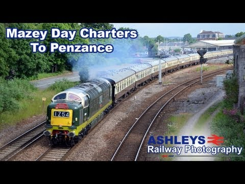 Two Mazey Day Charters To Penzance | Ft. D9009 | 29/6/13