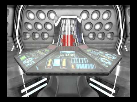 TARDIS Interior - Console / Control Room Redesign CGI