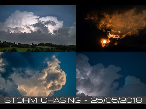 Storm Chasing - Devon - 25/05/2018