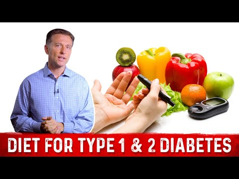 Is the Diet Different Between Type 1 & 2 Diabetes?
