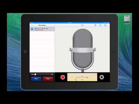 Adding Narration to Keynote Presentations on the iPad