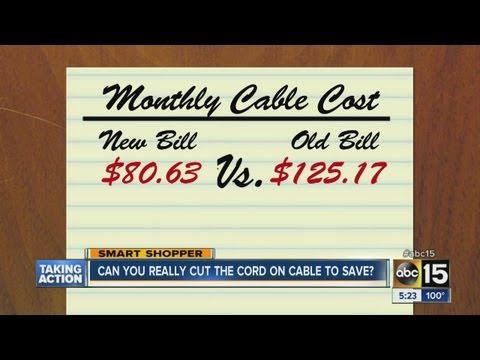Can you really cut the cable cord?