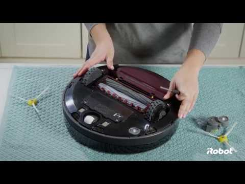 Roomba® 800 Series Side Brush Removal and Installation