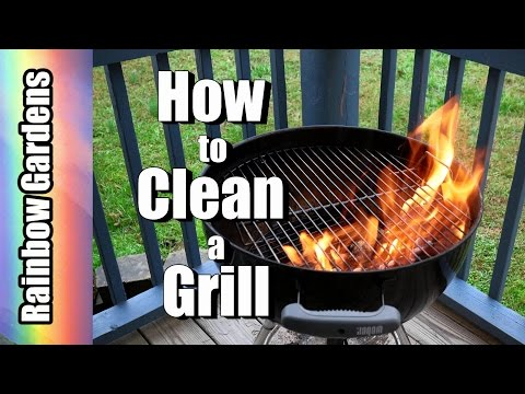 No Wire Brushes Please!  How to Safely Clean Your Grill with Aluminum Foil