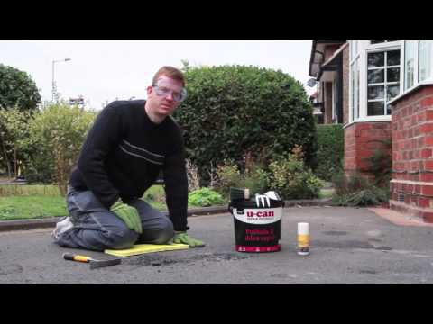 How to fix a pothole with U-CAN Pothole & Drive Repair