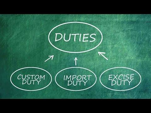 Understanding Duties & Taxes