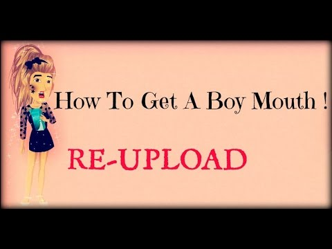 How To Get A Boy Mouth On MSP 2015 (Re-upload)