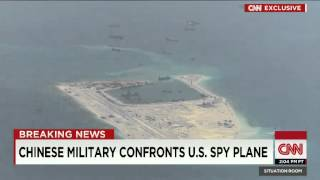 Chinese Miliary Confronts U.S. Spy Plane: Leave Immediatey! You Go! Please Go Away Quickly!