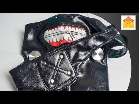 Tokyo Ghoul Kaneki's Mask Replica In Hand Review