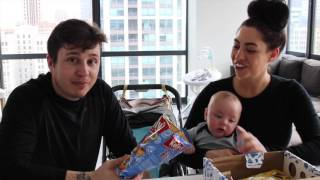 Baby Momma Tries Snacks From Austria...
