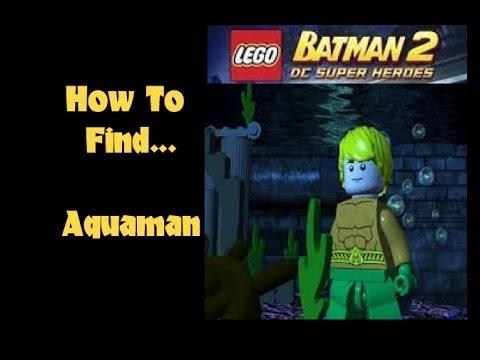 Lego Batman 2: How to find AQUAMAN