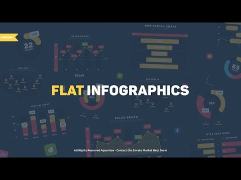 Flat Design Infographics ( After Effects Project Files ) ★ AE Templates