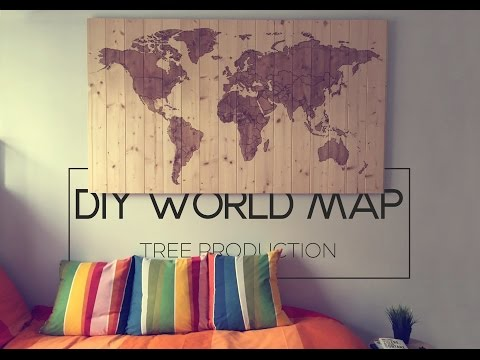 DIY World Map Project