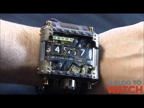 Devon Tread 1 Steampunk Watch Review