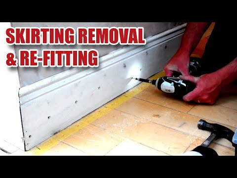 Skirting Board / Baseboard Glue Removal & Re-fitting - Gosforth Handyman [5]