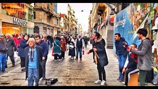 İstiklal Caddesi -sokak Müziği ( Safa Tatoğlu )