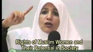 Woman says it is common for muslim men to beat their wives.