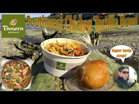 Panera Bread Southwest Chicken Tortilla Bowl