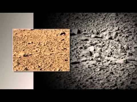The real MARS. Martian Alien Grave Yard. UFO. NASA
