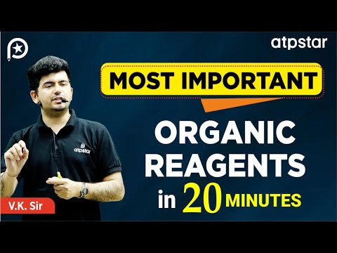 Most Important Organic Reagents in 20 minutes