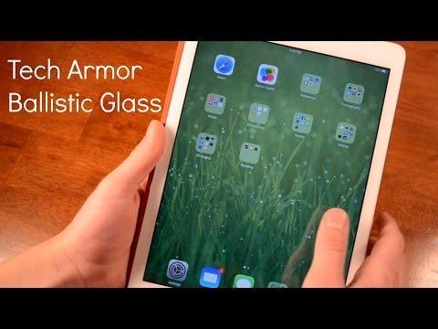Tech Armor iPad Air Glass Screen Protector Review