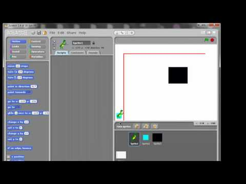How to make a Maze game using Scratch
