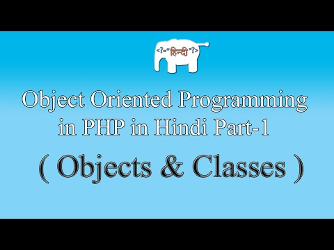 OOPS concepts in PHP in Hindi/Urdu (Objects & Classes) | Part-1