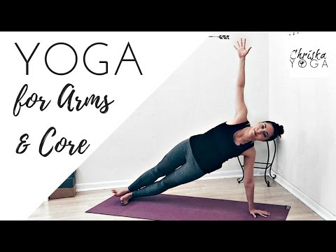 Arm Exercises & Core Strength   30 Minute Yoga for Arms   Yoga for Abs