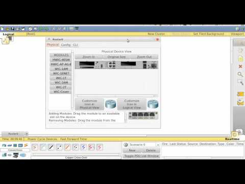 Cisco Packet Tracer - Scenario 1