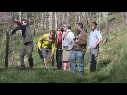 Building A New Disc Golf Course:  ETSU and Sugar Hollow Retreat