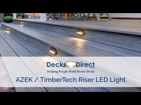 DeckLites LED Riser Light By TimberTech