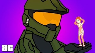 Master Chief Storyline in 3 Minutes | (Animation) Video Games in 3
