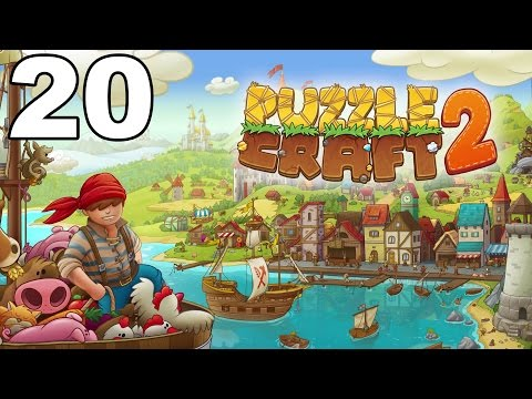 Puzzle Craft 2 - Gameplay Walkthrough Part 20 - Level 21-22 (iOS)