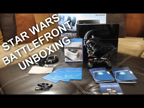 PlayStation 4 STAR WARS LIMITED EDITION Battlefront UNBOXING!