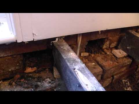 Rising Damp in walls, Blocked air bricks - Part 1, The Problem