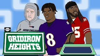 """Belichick, Lamar, Sherman Play """"Which Teams Are Good?""""   Gridiron Heights S4E12"""
