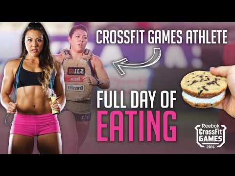 Jamie Hagiya Crossfit Games Athlete Full Day of Eating!