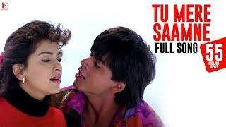 Tu Mere Saamne Song | Darr | Shah Rukh Khan, Juhi Chawla | Lata Mangeshkar, Udit Narayan | Shiv-Hari