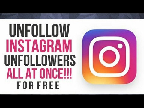 How To Unfollow People Who are Not Following You Back On Instagram Easy  [Bangla] 2017