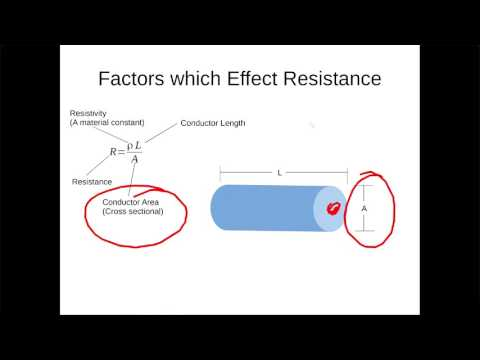 The Basic Physics Behind Electricity Part 4 - Resistance