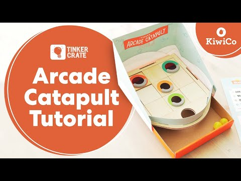 Make an Arcade Catapult - Tinker Crate Project Instructions