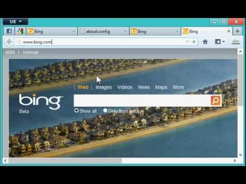 How to open desired sites on creating a New Tab (Firefox 13+)