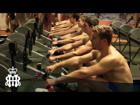 Rowing land training