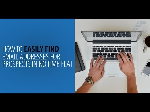 How to Easily Find Email Addresses for Prospects in No Time Flat