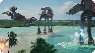 STAR WARS ROGUE ONE All TV Spots & Trailer (2016)