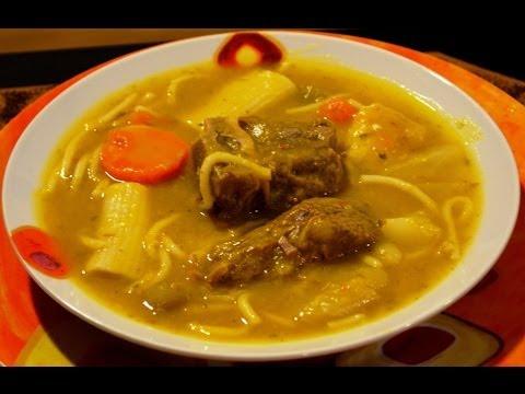 Soupe au giraumon / Joumou Soup