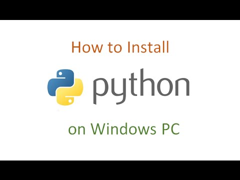 How to Install Python on Windows PC