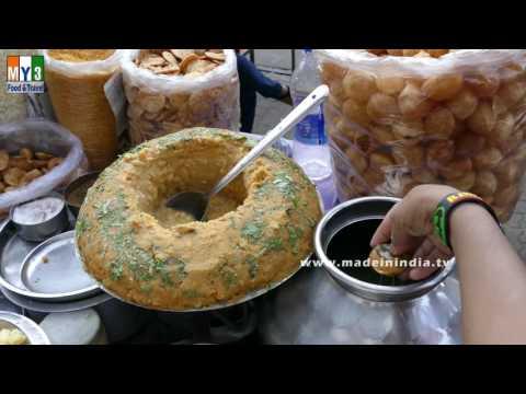 GOLGAPPE | RAGDA PANI PURI |  ROAD SIDE SNACK FOODS | MUMBAI STREET FOODS | STREET FOODS IN INDIA