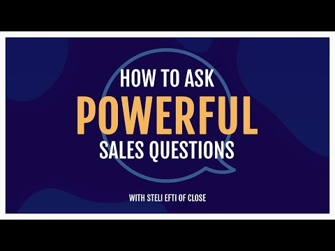 How to ask powerful sales questions